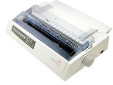 OKI Microline 321 Parallel Serial 9 Pin Wide Format Dot Matrix Printer Warranty
