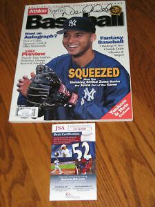 MINT Derek Jeter Rookie Autographed 1997 Magazine