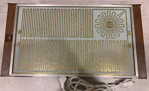 Vintage retro hot plate warmer food Salton Hotray Corning