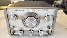 WAVETEK MODEL 134 SWEEP GENERATOR INDUSTRIAL SURPLUS Tested and working