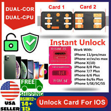 R-SIM15 Sim14+ 12+ Nano Unlock RSIM Card for iPhone 11 Pro XS MAX XR X 8 7 iOS13
