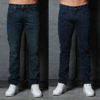 Mens Simply Jeans Slim Fit Vintage Straight Premium Fashion Designer Denim Jeans