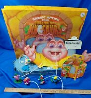 Dino-Motion Dinosaurs TV Show McDonald's Happy Meal Store Display Toys Set VTG