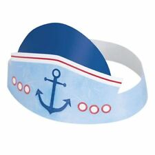 Nautical 1st Birthday 6 Ct Party Hats