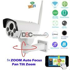 HD 1080P PTZ Wireless Wifi Network IP Camera 5XZoom Onvif Outdoor D/N Array Leds