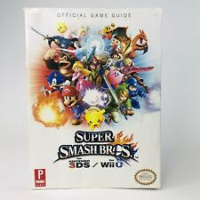 Super Smash Bros WII U/3DS Prima Official Strategy Game Guide