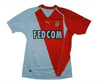 Monaco 2004-06 Authentic Home Shirt (Excellent) M Soccer Jersey