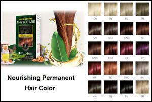 Nourishing Permanent Hair Color /NO Amonia with 5 Natural Oils,Vegan,NO Paraben