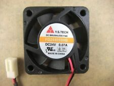 Y.S.TECH FD244010HB 4010 40mm x10mm Fan 24V 0.07A  2Pin 446