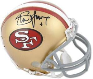 San Francisco 49ers Steve Young Autographed Helmet