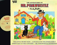 ENID BLYTON Adventures Of Mr Pinkwhistle VINYL Super Tempo 1982 STMP 9022 @N/M