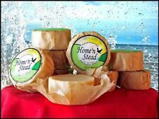 All Natural Handmade Probiotic Non-Scented EM Soap - 3 BARS