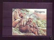 +3045+ TIMBRE GUINEE   BLOC SINGES  1998