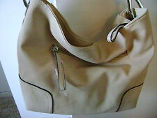 NWT BEIGE HOBO  PURSE