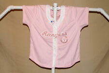 TEXAS RANGERS   Ladies JERSEY   by Lady Slugger   Womens Large   NWT  pink
