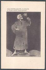 Louis RAEMAEKERS n° 82 MILITARI 1ᴬ GUERRA - Propaganda anti Austriaca Cartolina