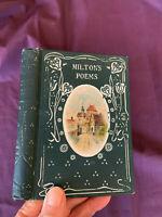 Poetical Works of John Milton    c. 1890  Binding