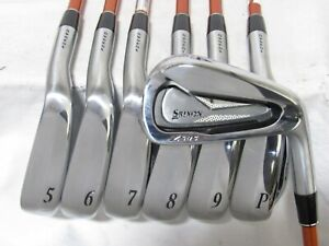 Used RH Srixon Z585 Forged Iron Set 4-P Regular Flex Graphite Shafts