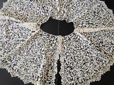 Antique Lace- C. 18Th-19Tc. Rare Bobbin Lace Collar W/Bees,Florals,Birds,Anim als