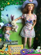 1998 Easter Bunny Fun Barbie & Kelly Gift Set #21720