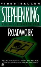 Roadwork by Richard Bachman and Stephen King (1999, Paperback) VG PB
