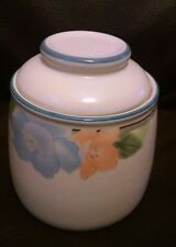 Mikasa Intaglio Garden Poetry Tea Canister With Lid CAC08