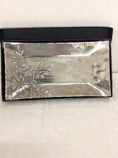 "Wendell August 12"" Aluminum Tray Hand Made Design*"