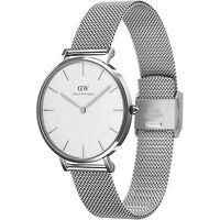 *NEW DANIEL WELLINGTON DW00100164 SILVER 32MM PETITE STERLING 2 YEARS WARRANTY*