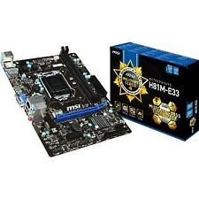 Placa base 1150 MicroATX MSI H81m-e33 - 2xddr3 (hasta