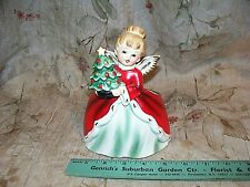 VINTAGE NAPCO CHRISTMAS PLANTER- CHARMING- USED- SIGNED- FESTIVE- LOW PRICE