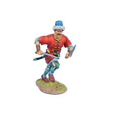 First Legion: REN060 Ottoman Turk Janissary Charging with Two Blades