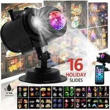 Xmas Landscape Waterproof LED Projector Light Water Wave Festival Party Lamps