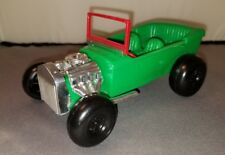 Rare Simms Inc. Vintage Plastic Toy Hot Rod 1960's