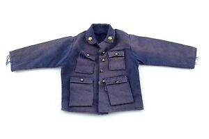 Vintage Policeman Tunic Blue Jacket Sheriff Made In Hong Kong Accessory L624