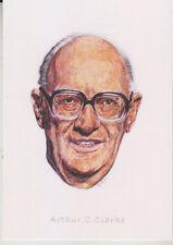 C1 Carte Postale DESSIN JULLIAN Auteur SF Arthur C. CLARKE