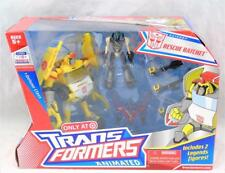 Transformers Animated Deluxe Rescue Ratchet with Legends Starscream & Prowl MISB