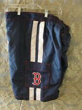 Boston Red Sox blue swim suit trunks size medium polyester NWT shorts