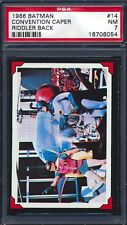 1966 Topps Batman Riddler Back — Convention Caper #14 — PSA 7