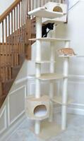 "New Design Armarkat Solid Wood Cat Tree Condo Furniture 14""D x 49""W x 89""H"