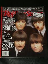 ROLLING STONE magazine 2001, The Beatles, Axl Rose, Jennifer Lopez, Guns N Roses