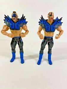 WWE Jakks Legion of Doom Road Warriors Hawk Animal Classic Action Figures WWF