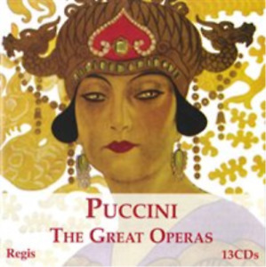 Puccini: The Great Operas CD NEW