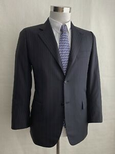 Kiton Made to Measure Striped Suit, Super180´s Sz.IT48 - US38 Good condition