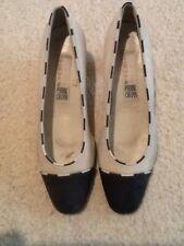 Chaussures Femmes Escarpins de PIERRE CHUPIN Cuir Blanc/bleu T 37