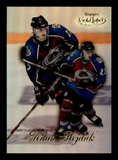 1998-99 Topps Gold Label #90 Milan Hejduk Avalanche Rookie (ref 48213)