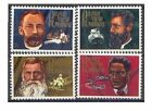 Papua New Guinea 1972 MISSIONARIES (4) Unhinged Mint SG 227-30