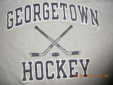 Georgetown Hoyas Hockey Shirt Classic Workout Gray Champion XXL GO GU Hoya Destr