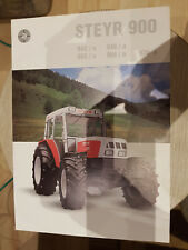 Prospektblatt Sales Brochure Steyr 900 Technische Daten 942 948 Traktor Agrar
