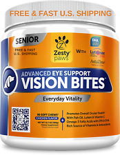 VISION SUPPORT Senior Dogs Astaxanthin Vitamins Antioxidants STOP DEGENERATION
