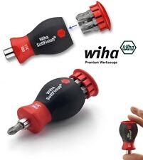 Wiha Stubby Pocket Screwdriver Premium SoftFinish 2 Sets of 6 in 1 Bit set #3801